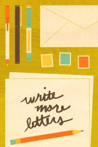 Write More Letters, Lydia Nichols, 2012