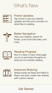 Goodreads Update