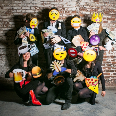Pixel and Pilcrow - Graphic Design Halloween Costumes - Emojis