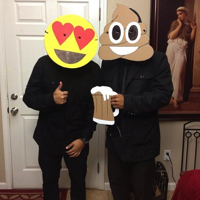 Pixel and Pilcrow - Graphic Design Halloween Costumes - Emojis