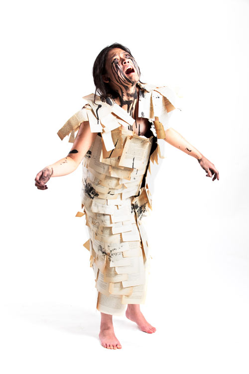 Pixel and Pilcrow - Graphic Design Halloween Costumes - Death of Print