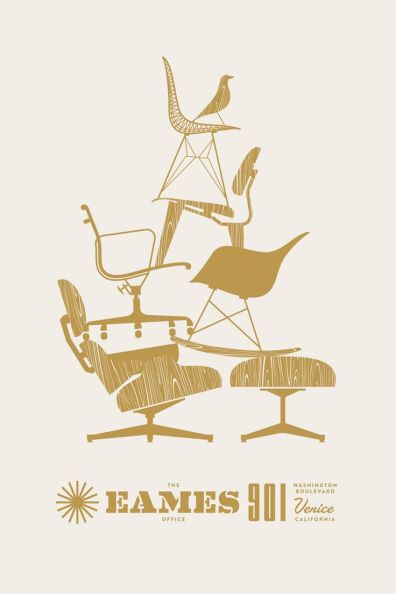 Pixel and Pilcrow - Designing the Holidays - Eames Card